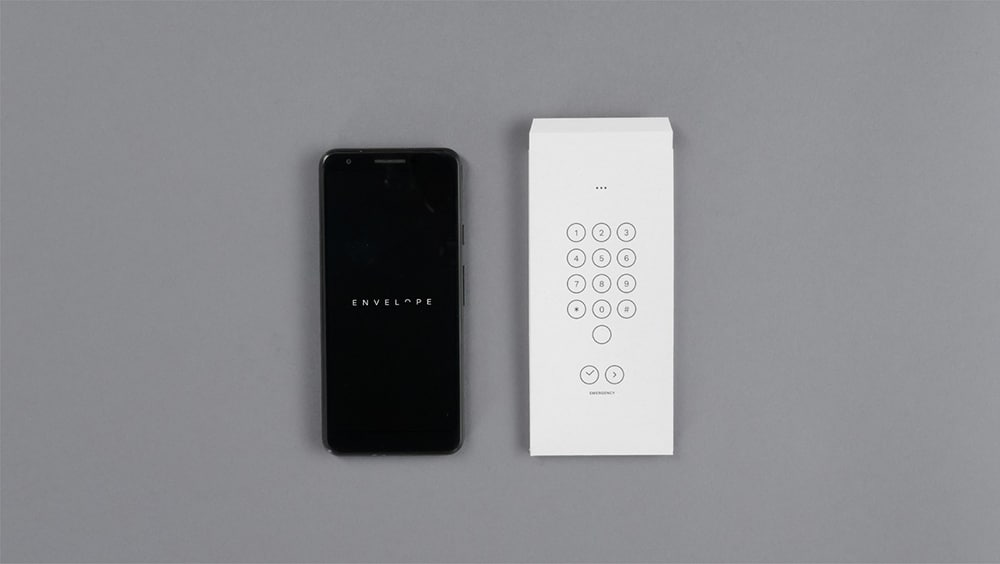 Google Envelope turns your mobile into a much simpler phone, where only the keypad works.
