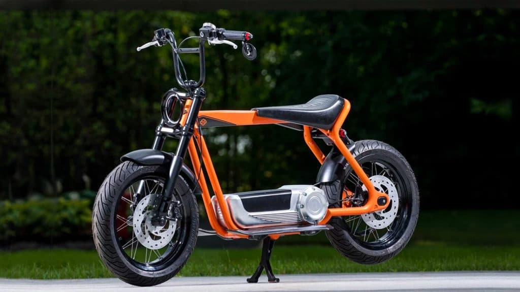 Harley-Davidson revealed its electric scooter concept
