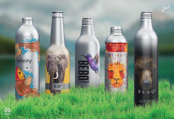 Infinity Aluminum Bottles