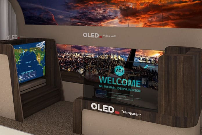 LG Display to Introduce Latest Cutting-edge Displays for Airplanes, Automobiles and More at CES 2020.