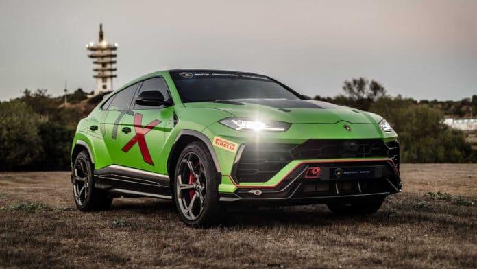 The new Lamborghini Urus ST-X will arrive this year.