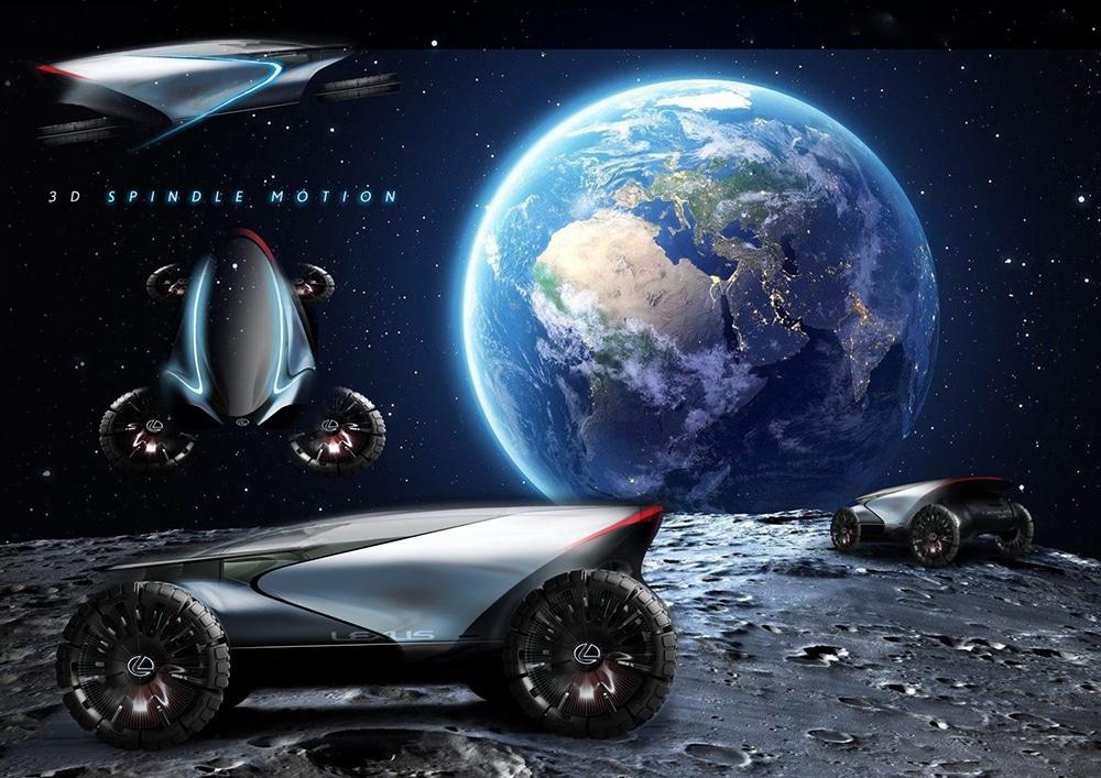 The Lexus Lunar Cruiser concept