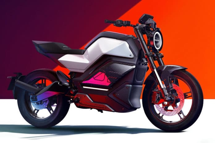 The new RQi-GT is an urban performance electric motorcycle.