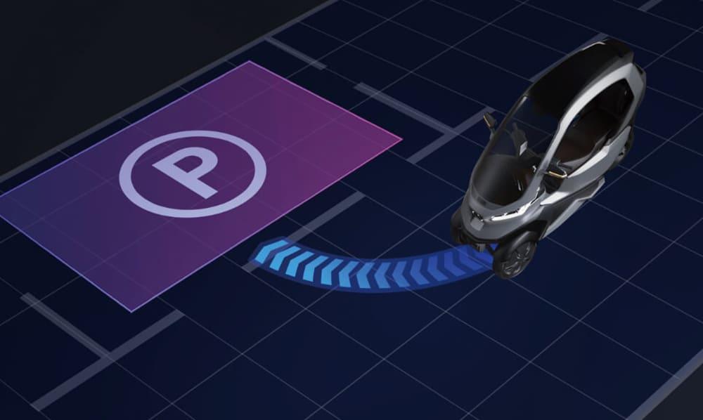 It includes Level 2 autonomous driving features, such a self-parking, collision detection.