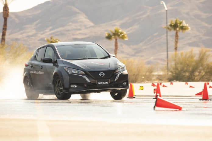 e-4ORCE expands electric vehicle performance capability. Credit: Nissan