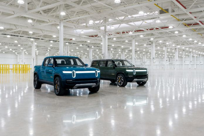 The Rivian R1T and R1S