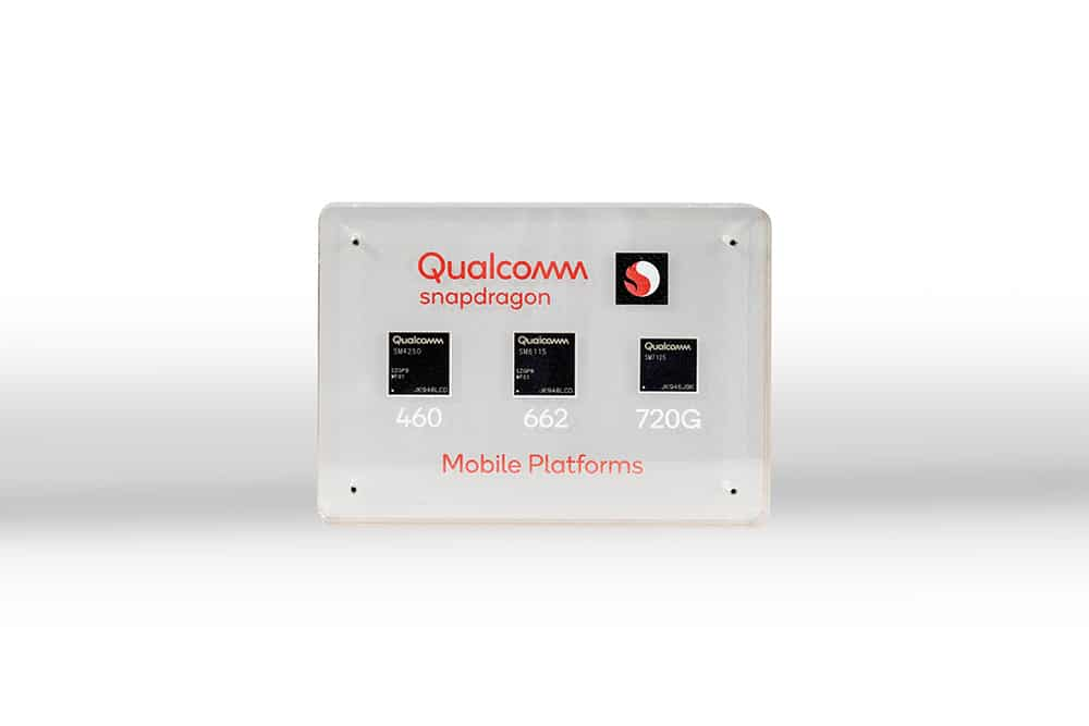 The Qualcomm Snapdragon 720G, 662 and 460.