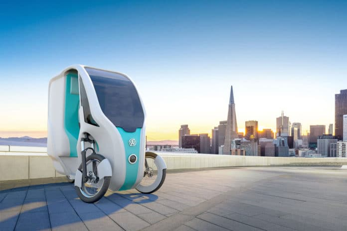 Wello Family, an electric tricycle powered by the SUN
