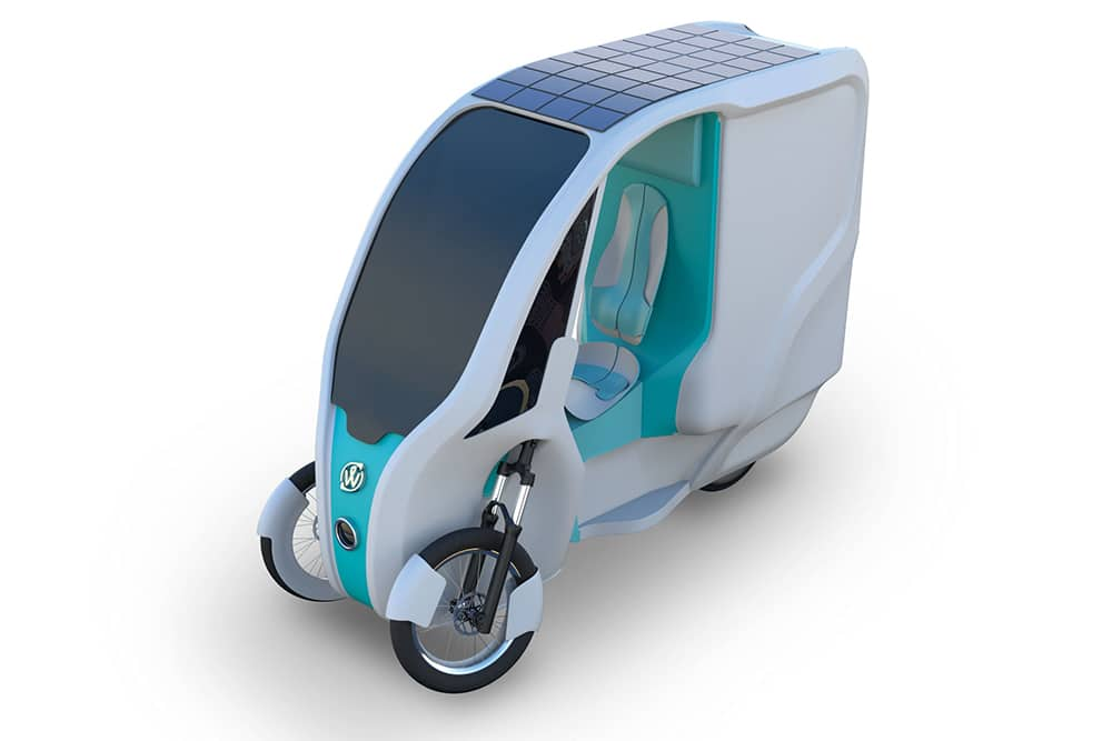 Wello Family bike-EV hybrid uses pedals, a battery and optional solar panels.