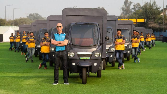 Amazon India aims to add 10,000 electric delivery rickshaws by 2025.