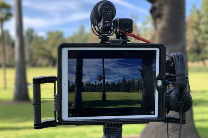 Turn your iPad or tablet into a video rig with iOgrapher Pro.