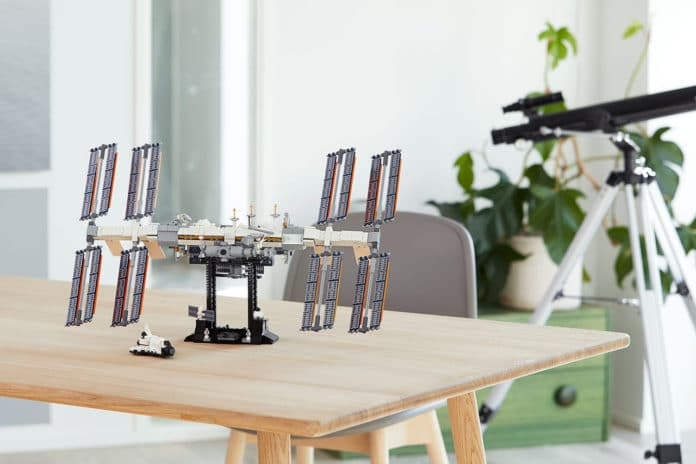 Lego's International Space Station kit.