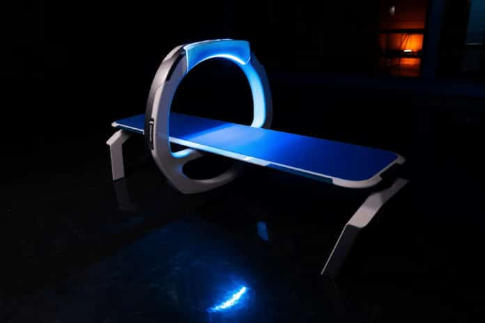 Sci-fi inspired medical bed could replace bulky and expensive X-ray machines.