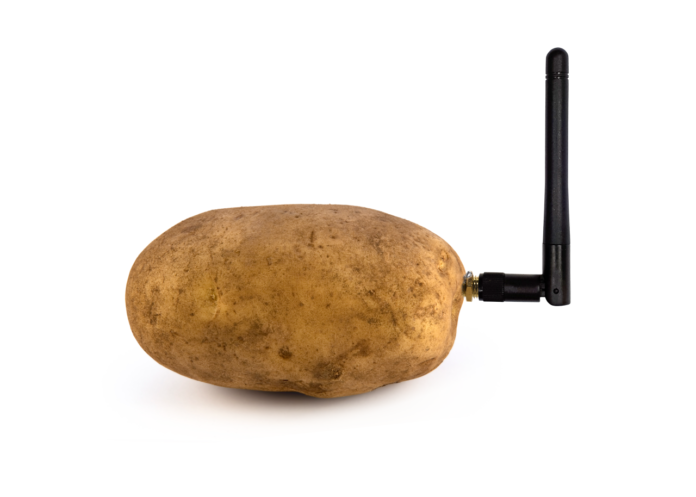 The World's First Smart Potato seen at CES 2020