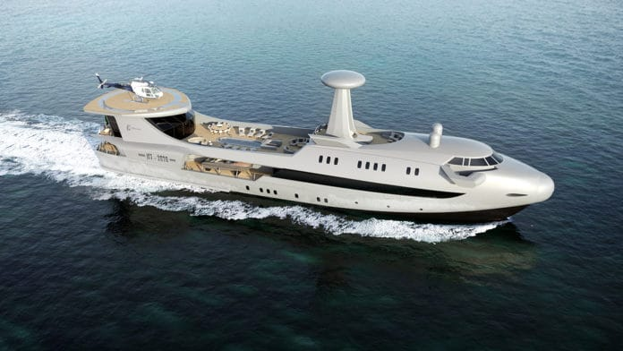 CODECASA JET 2020: the luxury superyacht inspired by aviation.