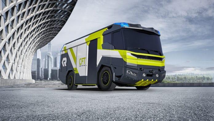 Rosenbauer's Concept Fire Truck (CFT).