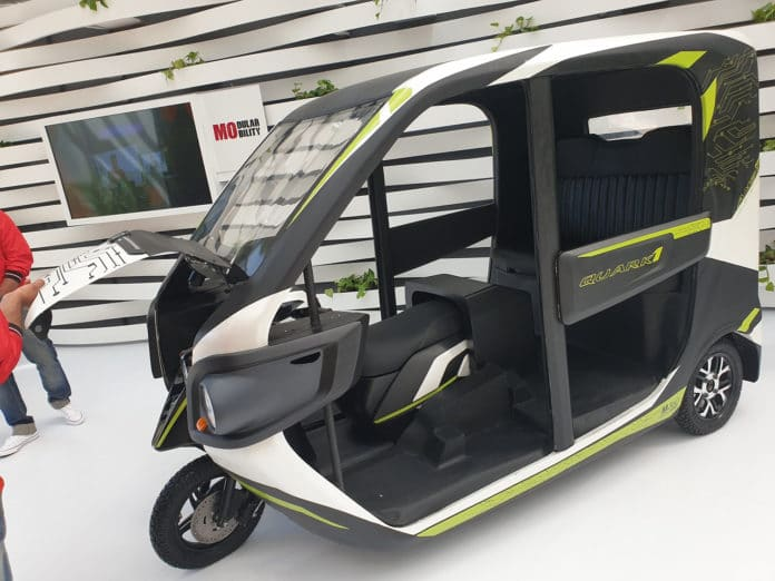 Hero Quark 1, a class changing electric vehicle concept.