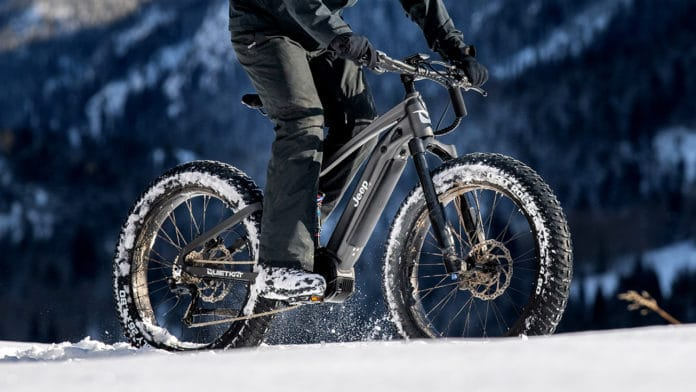 The first Jeep off-road electric bike.