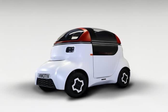 MOTIVE autonomous vehicle platform.