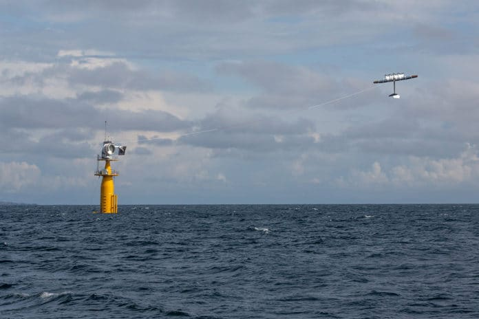 Makani's flying wind turbines.