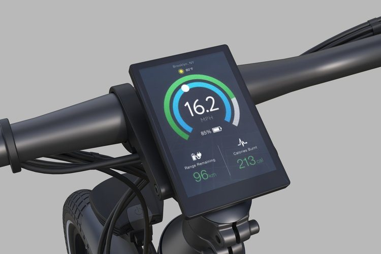 Secure your bike with a PIN on your smartphone or the bike display