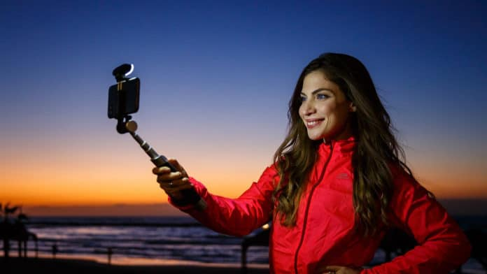 Pictar Smart-Light Selfie Stick makes you look good in every shot.