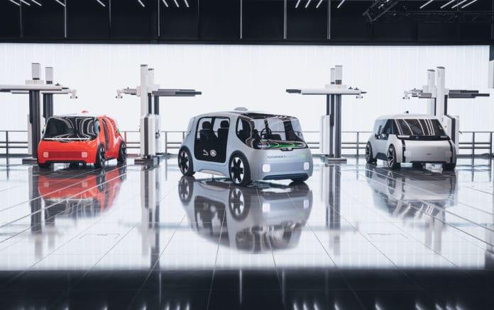 Jaguar Land Rover reveals Project Vector concept.