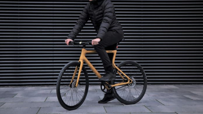 Urwahn Platzhirsch, an innovative 3D printed e-bike.