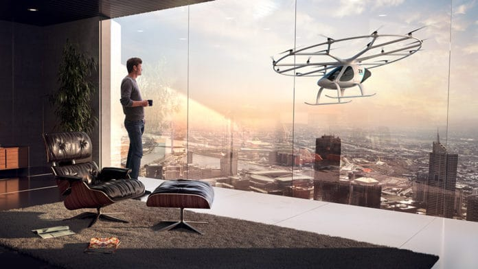 Volocopter Air Taxi.