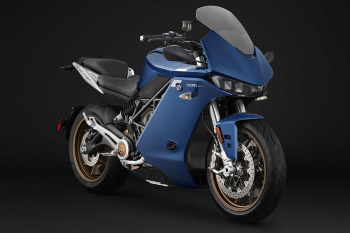 Zero's new SR/S electric motorcycle.