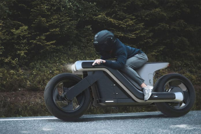 Z-motorcycle electric concept.