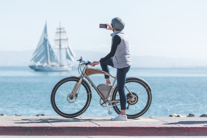 2020 Cafe: A new electric bicycle with 'retro' charm from Vintage Electric.
