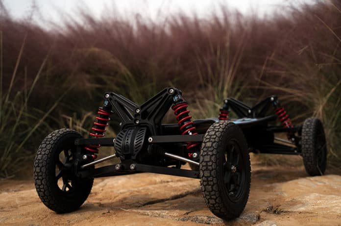 Cycleagle electric off-road skateboard opens up new possibilities for fun.