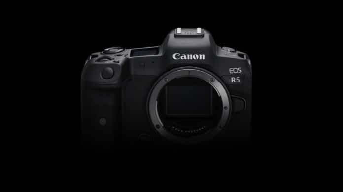Canon EOS R5 will shoot in 8K at 30 fps
