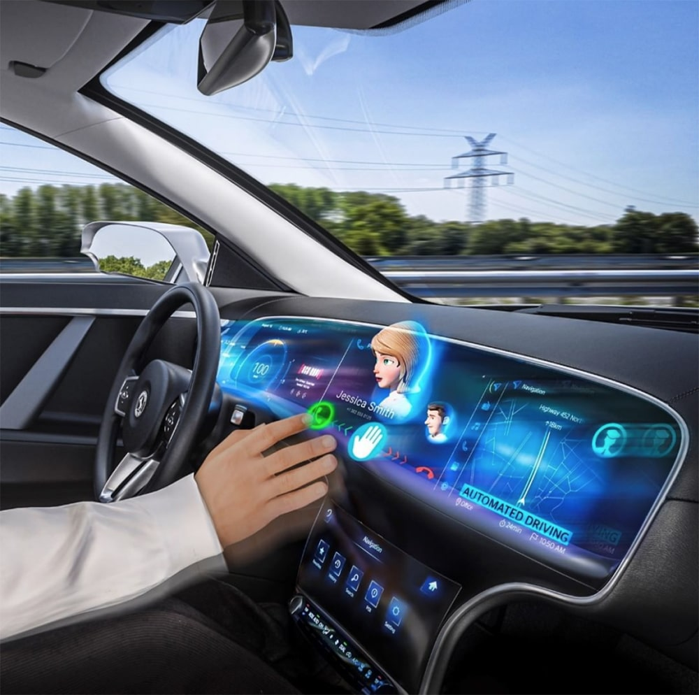 Continental is bringing its glass-free 3D displays into vehicles, first in the HMC Genesis GV80 high-line variant.