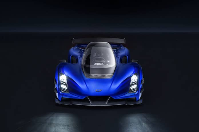 Czinger debuted the 21C, and claims to be faster than the Koenigsegg Regera.