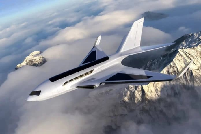 Eather One: the electric plane that uses air friction to generate power.
