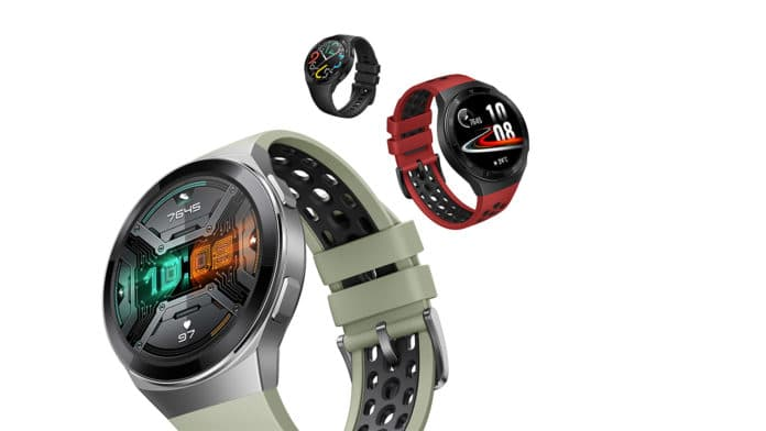 The Huawei Watch GT 2e has 2 weeks of battery life.