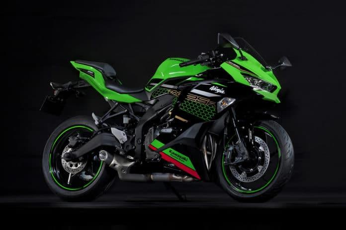 Kawasaki Ninja ZX-25R: a 250cc motorcycle can roar up to 17,000 rpm.