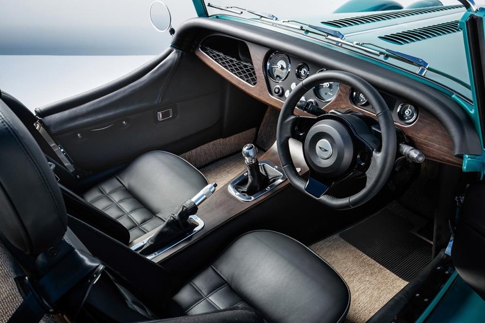 Morgan Plus Four Interior.