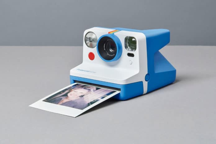 Polaroid Now, a new instant camera with autofocus and improved flash.