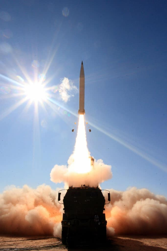 PrSM was fired from Lockheed Martin's HIMARS launcher.