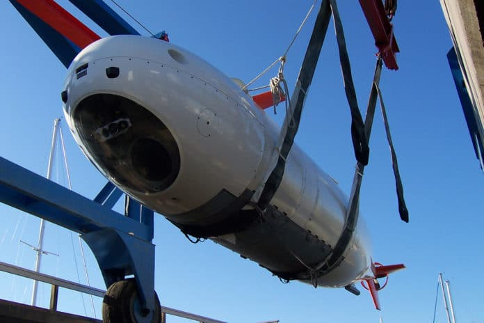 MSub's S201 manned submersible to be converted into an unmanned vehicle (XLUUV).