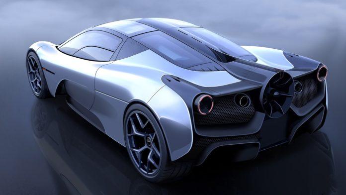 Gordon Murray's T.50 hypercar is a true successor to the McLaren F1.