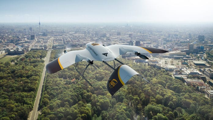 UPS and Wingcopter team up to develop versatile new delivery drone fleet.