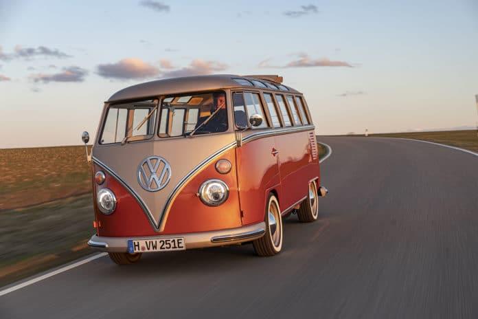 Volkswagen e-BULLI: a 1966 classic with 2020 electric drive.