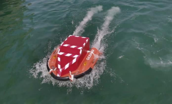 Zycraft's improved version of the Dolphin marine rescue robot.