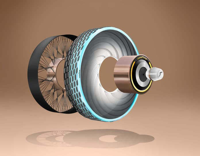 The Goodyear reCharge Concept.