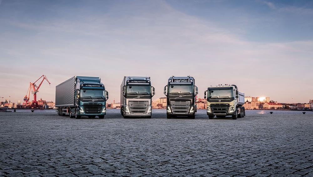 Volvo Trucks is launching four new heavy duty trucks.