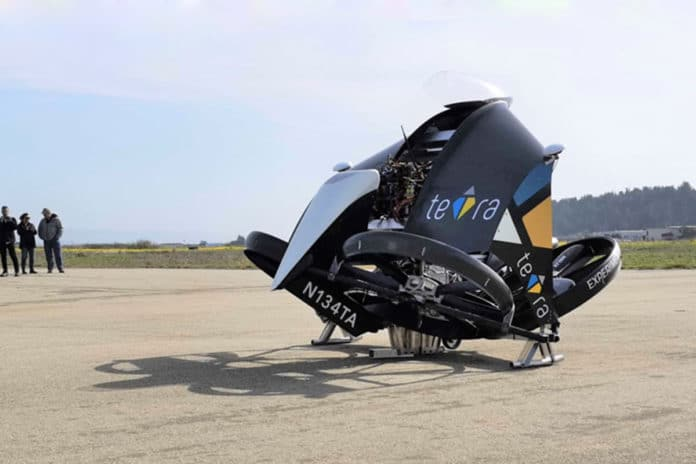 Japan's teTra Wins $100,000 Disruptor Award at GoFly Final Fly-Off.